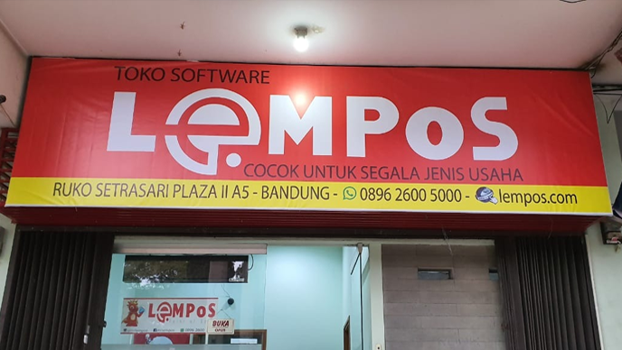 LEMPoS Point of Sales Inventory dan QRCode